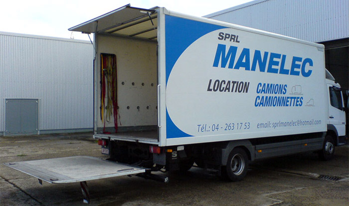 location d'un camion Manelec