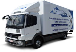 location camion 40m³
